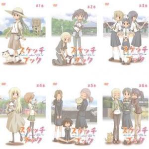 【DVDケース無】全 巻 中古DVD スケッチブック full color's(6枚セット)第1話〜...