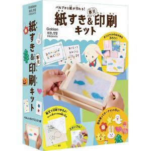 紙すき&寒天印刷キット(科学と学習PRESENTS)|youkenshop