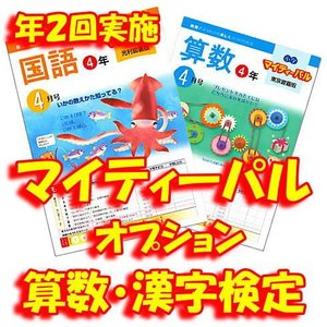 マイティーパル オプション 算数・漢字検定(年2回実施)各学年共通|youkenshop