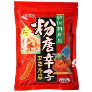 ■キムチ作りやチゲ(お鍋)などの料理にたっぷり使える「200g」入りの粉唐辛子です。 ■韓国唐辛子で...