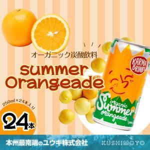 【Summer Orangeade(サマーオレンジエイド)】250ml×24本入り|youkico