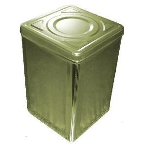 昔からおなじみの一斗缶です。 ブリキ製一斗缶は水、光、空気を通さないので、 お米やお菓子、薬などの保...