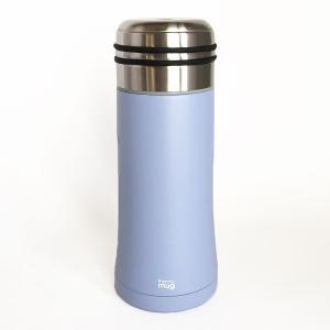 直飲みの水筒 thermo mug スマートボトル サックスブルー|youngole-2