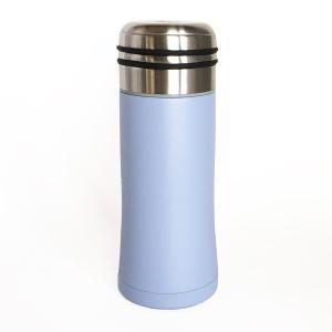 直飲みの水筒 thermo mug スマートボトル サックスブルー|youngole-2|02