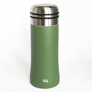 直飲みの水筒 thermo mug スマートボトル アイビーグリーン|youngole-2