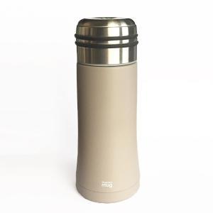 直飲みの水筒 thermo mug スマートボトル ワームグレー|youngole-2