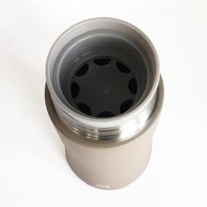 直飲みの水筒 thermo mug スマートボトル ワームグレー|youngole-2|04