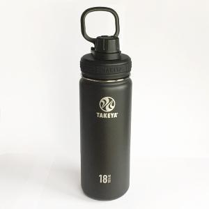 直飲みの水筒 タケヤ サーモフラスクボトル0.52L(ブラック)|youngole-2