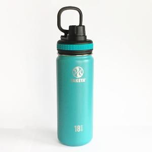 直飲みの水筒 タケヤ サーモフラスクボトル0.52L(ブルー)|youngole-2