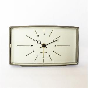 アナログの置時計 Robledo[ロブレド]デスククロック(グレー)|youngole-2|02