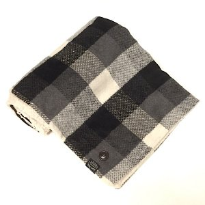 Suave Textile チェックブランケット(ブラック)|youngole-2