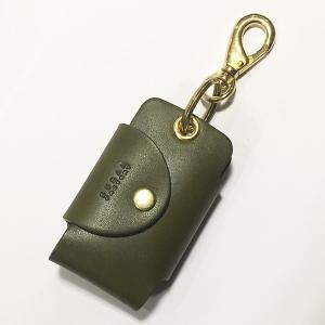 メンズ・レディース兼用 レザーのキーケース  [DURAM]キーケース7005(グリーン)|youngole-2