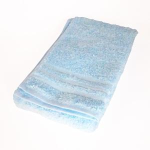 日本製のタオル 今治 コンテックス プラスカラー フェイスタオル ブルー|youngole-2