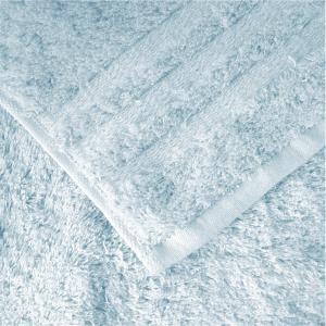 日本製のタオル 今治 コンテックス プラスカラー フェイスタオル ブルー|youngole-2|02