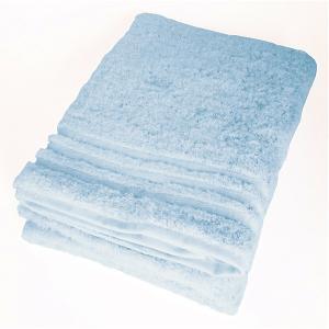 日本製のタオル 今治 コンテックス プラスカラー バスタオル ブルー|youngole-2