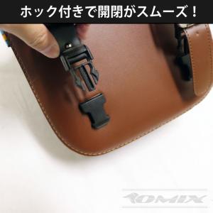 バイク用 サイドバッグ アメリカン 汎用 ツーリングバッグ|youngtop|03