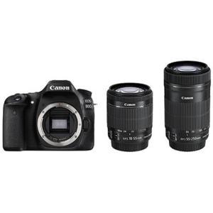 CANON デジタル一眼カメラ EOS 80D ダブルズームキット