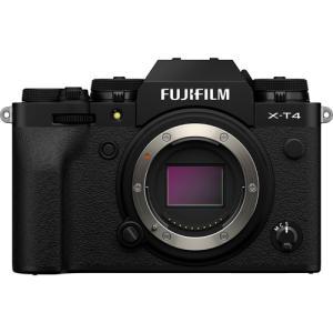 富士フイルム デジタル一眼カメラ FUJIFILM X-T4 ボディ [ブラック]