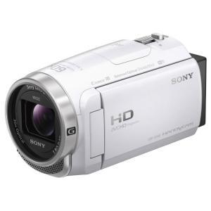 SONY ビデオカメラ HDR-CX680 (W...の商品画像