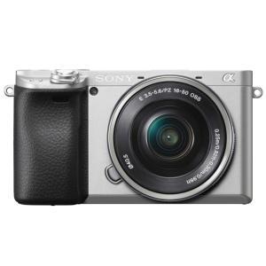 SONY デジタル一眼カメラ α6400 ILCE-6400L パワーズームレンズキット [シルバー...