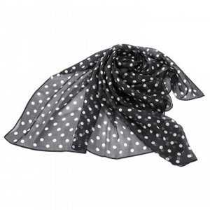 シルクのスカーフ(ドット柄)|youplan