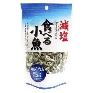 フジサワ 日本産 減塩 食べる小魚(60g) ×10セット|youplan