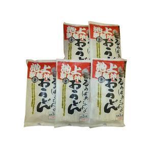 池上製麺所 るみばあちゃんのうどん 3食つゆ付き 5袋セット(代引き不可)(同梱不可) youplan
