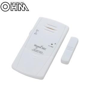 オーム電機 OHM 開放感知 防犯アラーム OSE-ADX161M-W|youplan