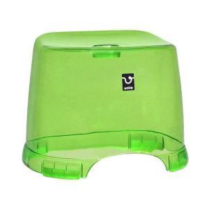 シンカテック untie crystal II(アンティクリスタル2) 風呂椅子角 グリーン Unc-HK-G|youplan