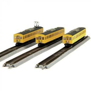 国鉄103系 カナリア 総武線タイプ 増結3両セット T022-4