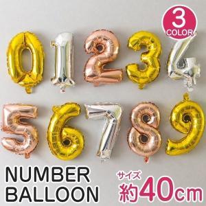 ★40cmのナンバーバルーン  大人気のナンバーバルーンから40cmの風船が登場しました。 カラーは...