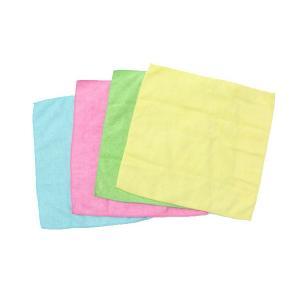 4色アソートセット 極細繊維が汚れをキャッチ!マイクロファイバークリーニングクロス  掃除 万能 楽ちん|your-shop