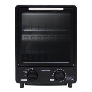 ※新生活※【オーブントースター縦型】 2段式 省スペース縦型オーブントースター 900W レッド/ホ...