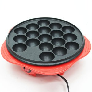 フッ素コートだから焦げ付きにくい!美味しく焼ける♪電気卓上たこ焼き器(18個焼き) NKK-18 フッ素 たこ焼き プレート たこパ 焦げない|your-shop