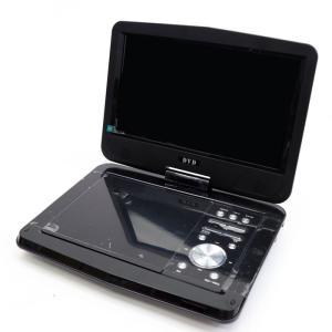 地デジ・フルセグ対応 9インチ液晶 ワンセグ搭載ポータブルDVDプレーヤー HTA-900  CD  USB2.0 持ち運び 180度回転 |your-shop