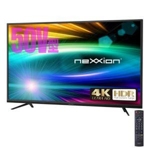 HDR対応。リアルで鮮やかな映像を実現 nexxion 50V型 HDR対応4K液晶テレビ FT-K5030B|your-shop
