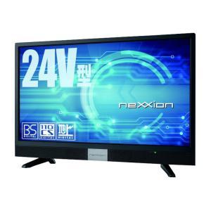 前面スピーカー採用モデル nexxion 24V型地上波デジタルハイビジョン液晶テレビ FT-C2460B|your-shop