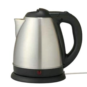 1.5リットルの大容量!簡単、素早くお湯を沸かせる! ステンレスケトル 1.5リットル HKI-150|your-shop