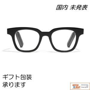 HUAWEI Eyewear メガネフレーム in 骨伝導 HeadSet / イヤホン by Gentle Monster / ブラック|yourmiraimall