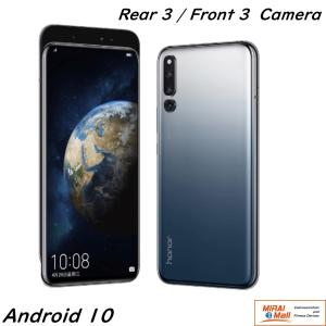 HUAWEI HONOR Magic 2 Android 9.0 DSDA 6GB+128GB 6レンズ(3+3) AMOLED 1080x2340 ブラック|yourmiraimall