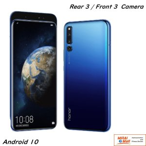 HUAWEI HONOR Magic 2 Android 9.0 DSDA 6GB+128GB 6レンズ(3+3) AMOLED 1080x2340 ブルー|yourmiraimall