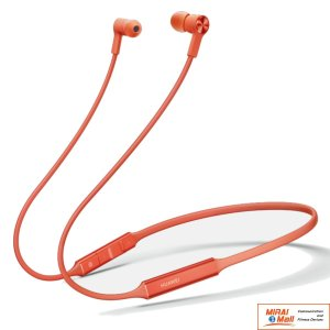 HUAWEI FreeLace Bluetooth 5.0 wireless ワイヤレス 9.2 mm 18時間 急速充電 オレンジ / Orange|yourmiraimall