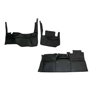 (フロントリアセット デラックス専用 ブラックレザー ) キャラバンNV350 標準ボディ DX グレード専用 デッキカバーセット DYP 新車 / VX 対応|yourparts