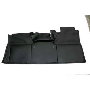 ( リア用 デラックス専用 ブラックレザー ) キャラバン NV350 標準ボディ DX グレード専用 リアデッキカバー DYP 新車 / VX にも対応|yourparts