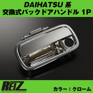 【クローム】交換式バックドアハンドル1P DAIHATSU アトレーワゴン S321 / 331 (H29/12-)|yourparts