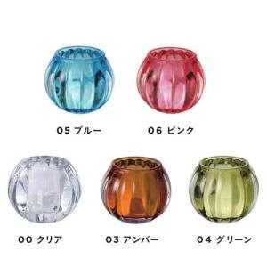 キャンドルホルダー ガラス製キャンドルグラス スクワッシュ 6個セット|yourstylewedding