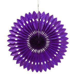 ペーパーファン 紫 40cm 装飾 デコレーション 撮影 9色あり クリックポスト対応|yourstylewedding