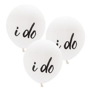 バルーン i do 風船 3個セット 結婚式 ウエディング 飾り メール便|yourstylewedding