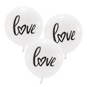 バルーン love 風船 3個セット 結婚式 ウエディング 飾り メール便|yourstylewedding