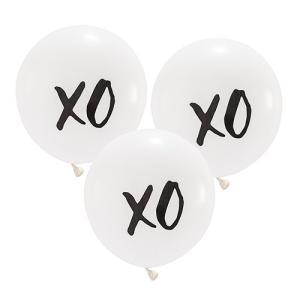 バルーン xo 風船 3個セット 結婚式 ウエディング 飾り メール便|yourstylewedding
